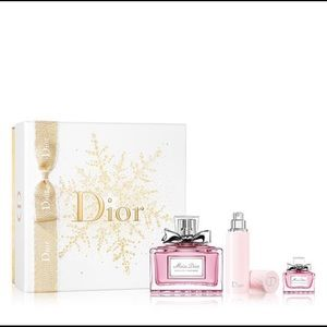Miss Dior Absolutely Blooming 3 pc Gift set RARE